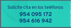 Solicite cita por teléfono